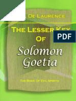 Goetia_ Lesser Key of Solomon by de Laurence, L.W
