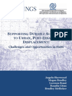 Supporting Durable Solutions in Haiti Report Feb 2014