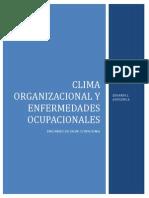 Clima Organizacional y Enfermedades Ocupacionales