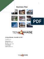 TenoShade Business Plan