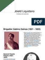Presidentes de Guatemala (Algunos)