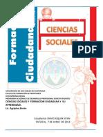 Portafolio de Ciencias Sociales