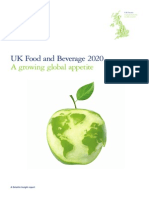 UK CB Food and Beverage 2020