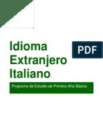 Propuesta Curricular Italiano 1º Básico