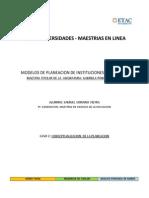 Modelos de Planeacion de Instituciones Educativas