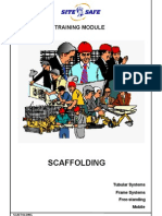 Scaffolding Training Module Aug 2002