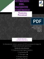 Nutrición Del Paciente Quirúrgico Nutircion Parenteral Seminario