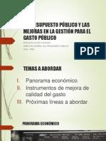 El Presupuesto Público
