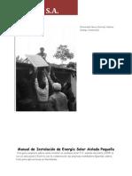 Small Scale Offgrid Solar PV- Installation Manual - Manual de Instalación de Energía Solar Aislada Pequeña