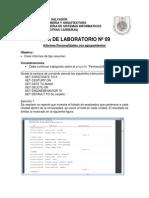 Guia 09 Laboratorio Informes Personalizados II 2014