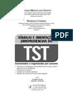 Www.editorajuspodivm.com.Br_i_f_Súmulas e OJ - TST - 2a Ed -Avulsas