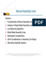4. Manual Assembly Lines