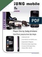 Samsung Player One Zadig & Voltaire