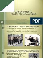 Comportamiento Preventivo en Seguridad
