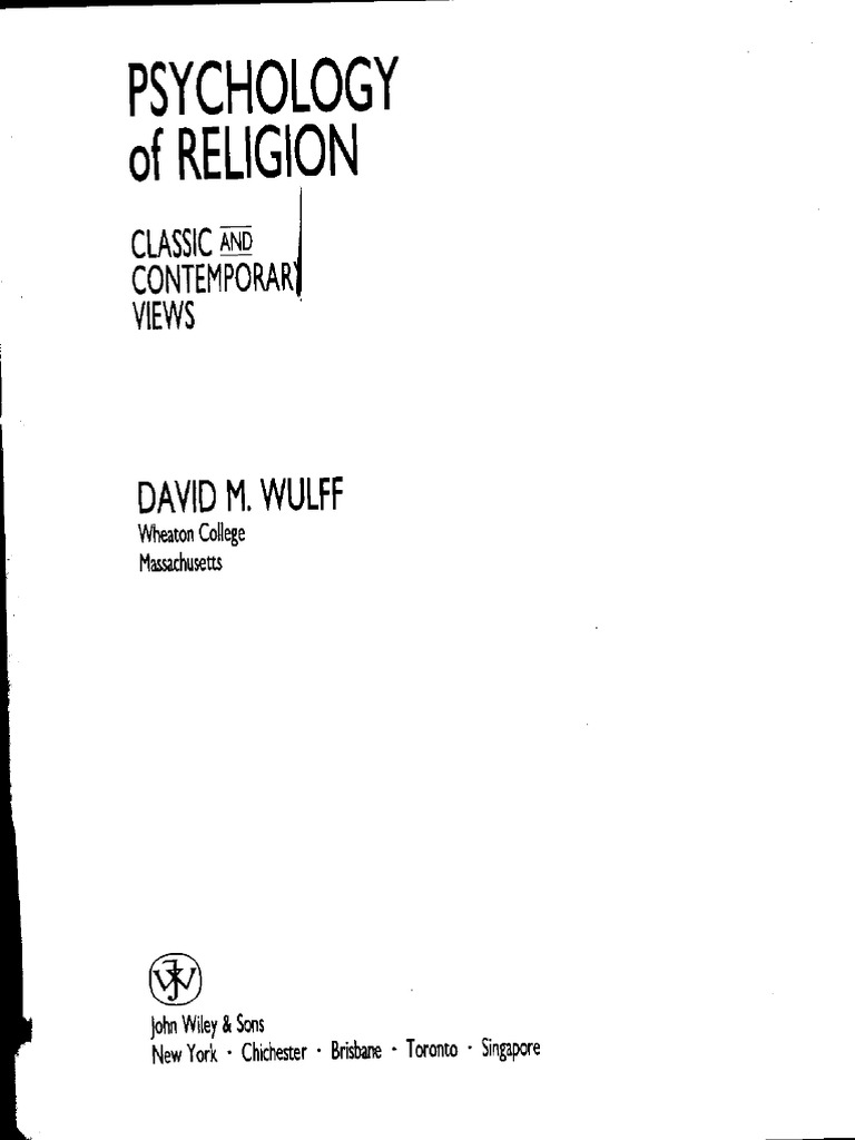 Psychology of religion classic and cont david m wulff carl psychology of religion classic and cont david m wulff carl jung psychology cognitive science fandeluxe Image collections