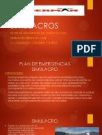Simulacros - Plan de Respuestas de Emergencia