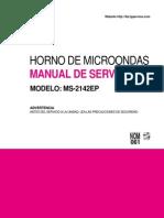 Manual de Servicio MS2142EP