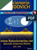 Solucionario Demidovich Analisis Matematico 1 - ByPriale
