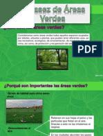 Escacez de Areas Verdes