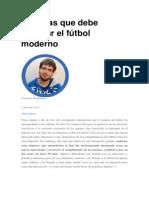 10 Cosas Que Debe Cambiar El Fútbol Moderno