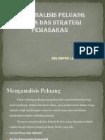 Menganalisa Peluang Dan Strategi Pemasaran