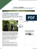 Comunidad Judía en Sololá Aseguran Ser _gente de Paz