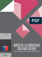 Mapeo de Las Industrias Creativas en Chile