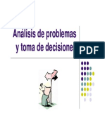 Anal is is de Problem as y to Made Decision Es