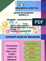 KPJ Wellness & Lifestyle Programme (22.06.2014)Brand Management (1)