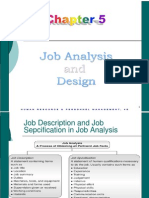 Class-Job Analysis and Design