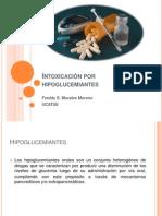 Intoxicacion Por Hipoglucemiantes.
