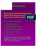Tema 14 (Anestésicos Generales)
