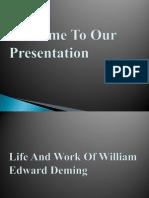 9 William Edwards Deming Power Point