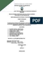 Plan de Trababajo de Proyeccion 2013