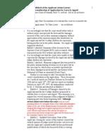 3. (3.2.3.) Affidavit-rule 73 to Reconsider Scc Decision
