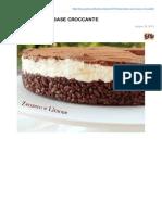 Cheesecake Con Base Croccante