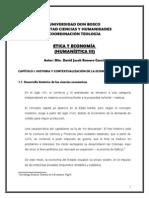 Curso UDB, Ética y Economía, David Jacobo Romero G.