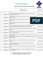 2014-15 ieee projects  list for dsp,ieee projects for dsp,ieee projects indsp