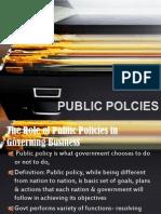 Public Policies