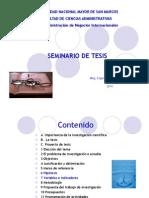 Seminario Tesis Parte IV 2014