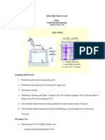Handout MPAK Prosedur Elektroforesis SDS PAGE