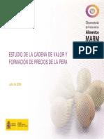 Estudio Cadena de Valor de La _Pera España