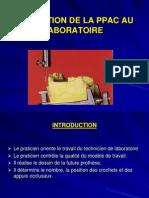 Confection de La PPAC Au Labo