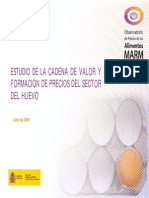 Estudio Cadena de Valor Del Huevo España