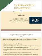 human behavior in organization chapter 1.