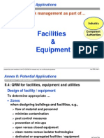 Quality risk Management -Facilities and Equipment