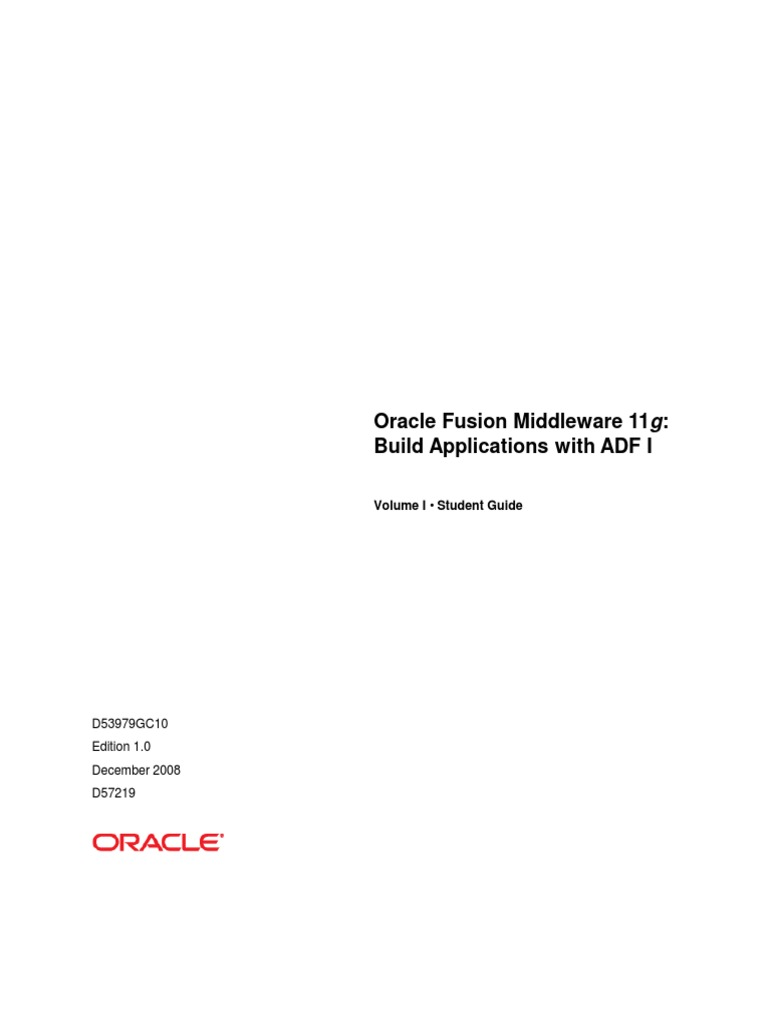 d53979gc10 csg rh scribd com Oracle BPM Certification Oracle BPM Architect