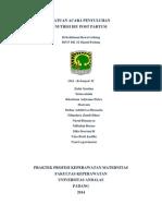 SAP Nutrisi Post Partum
