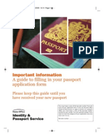 Passport Guidance Booklet