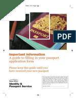 Passport Guidance Booklet